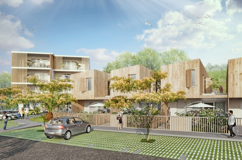 """56 logements """"Le Casino"""" / ALC ARCHITECTES"""