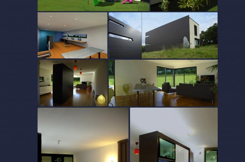 agencement intérieur décoration architecture contemporaine isolation extérieure