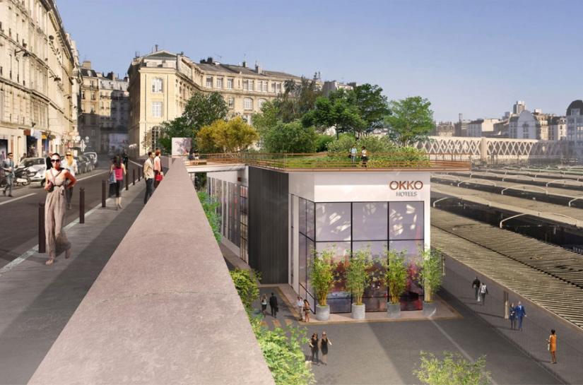 Okko Hôtel Paris par SLA Architecture