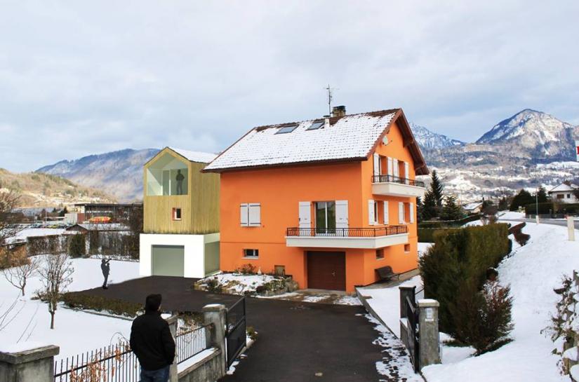 Extension et individualisation d'un appartement à Marignier - 74