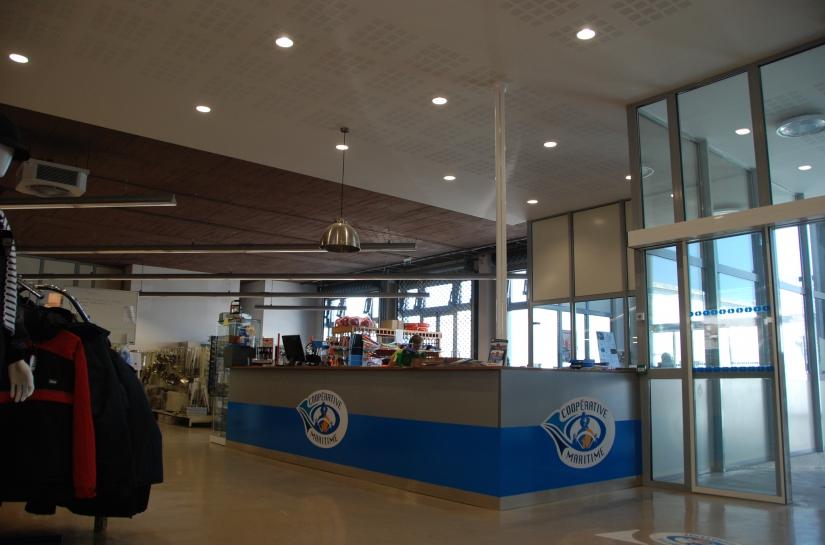 olivier samzun architecte, rénovation magasin bureaux et entrepot