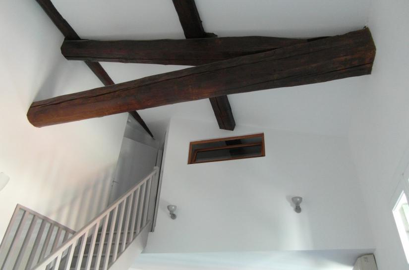 Rénovation d'un logement en secteur classé, sauvegardé.