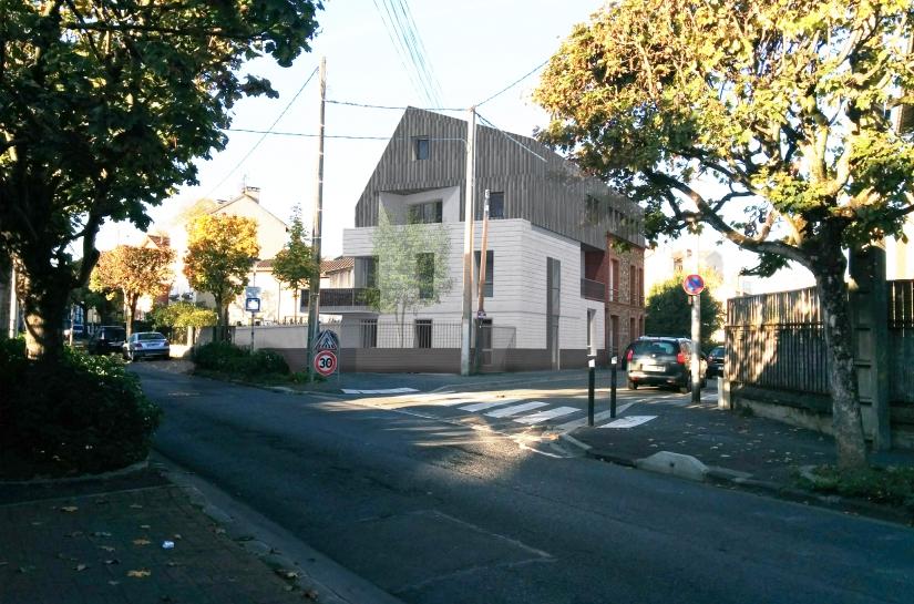 Extension / surélévation ensemble immobilier