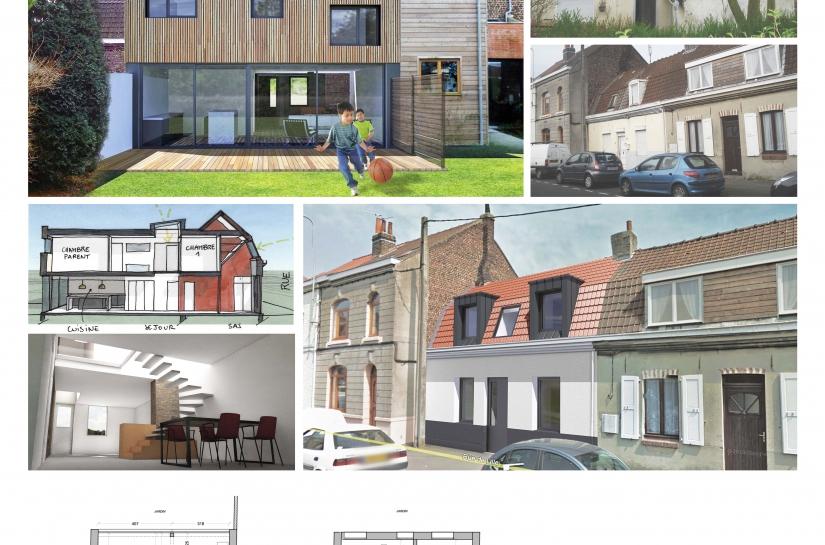 Rénovation et extension maison flamande