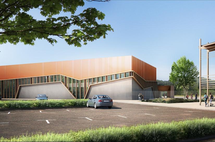 Salle d'évolution sportive Beaumont les Valence