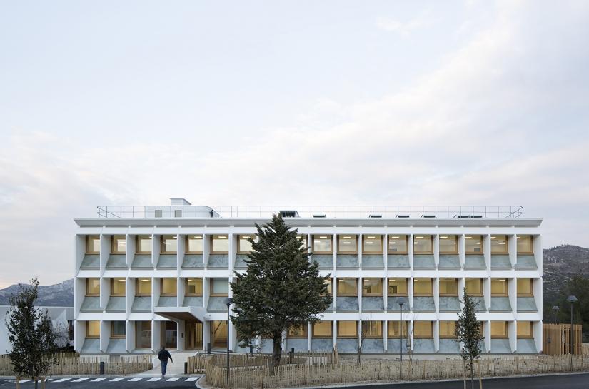 MI-MAbs - façade principale
