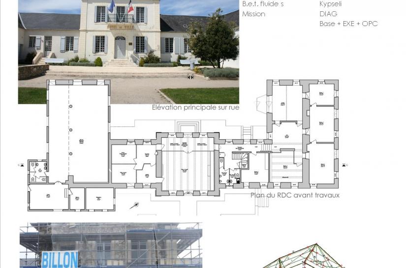 Rénovation de la Mairie de l'Epine (85)