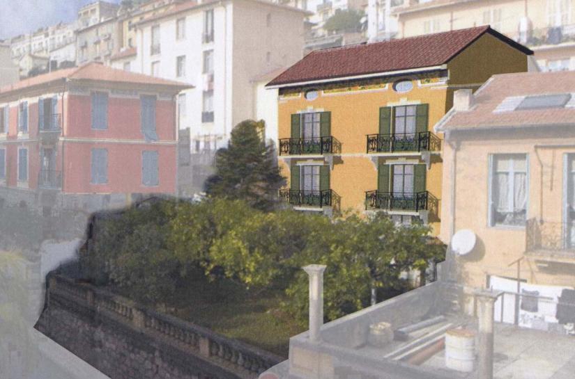 Restructuration d'un immeuble en 5 appartements Beausoleil