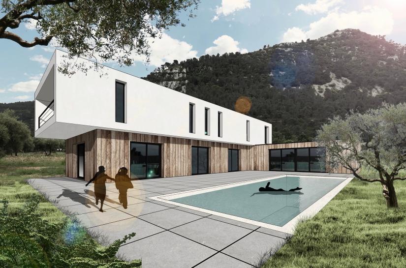 Villa Gémenos Projet