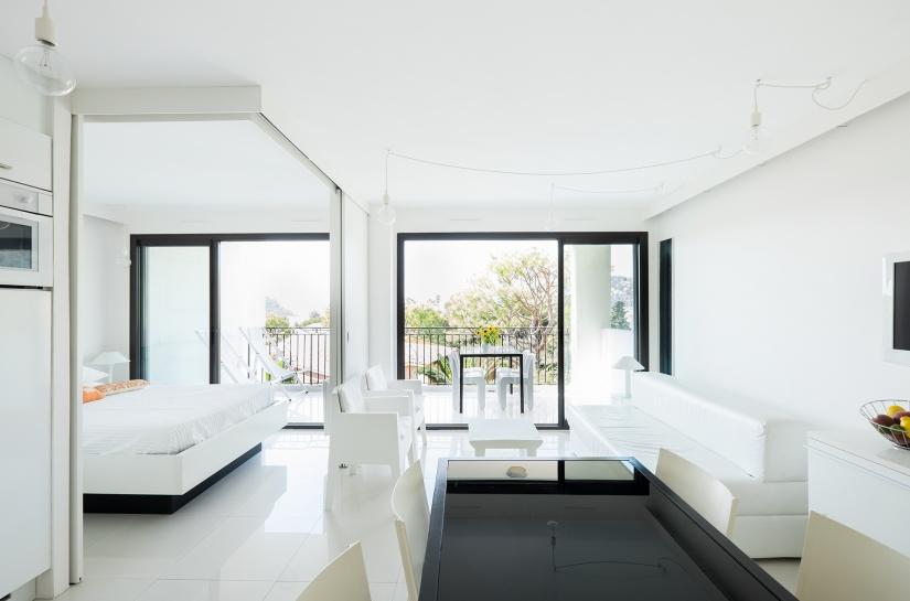 Séjour vers la terrasse