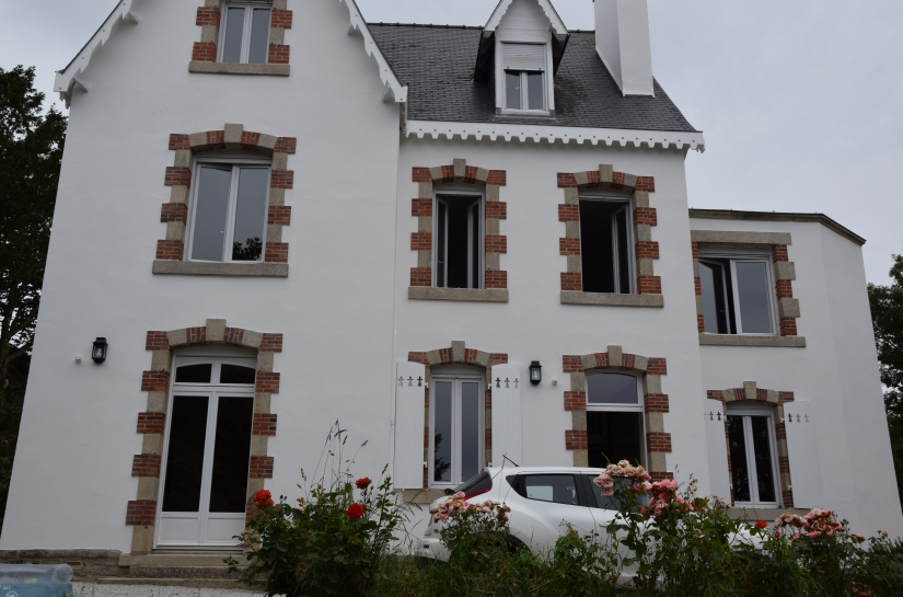 olivier samzun architecte renovation maison à Fouesnant