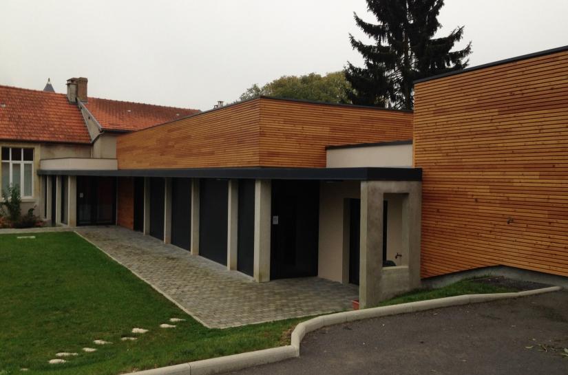 MAIRIE DE VANDEUIL 51140 AGENCE GEOFFROY ARCHITECTES
