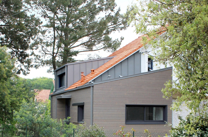 SL20 ARCHITECTURE - Extension rénovation - Les Sapins d'or - Saint-Brévin-les-Pins - vue 1