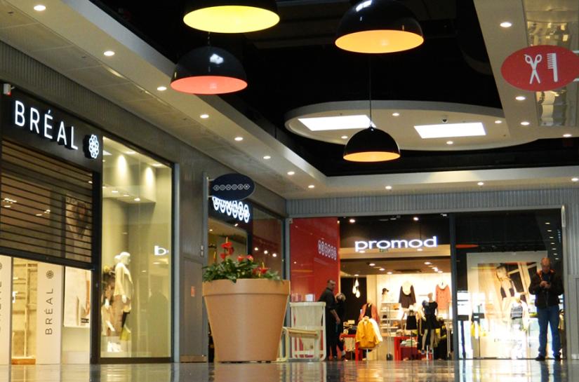 Extension galerie commerciale