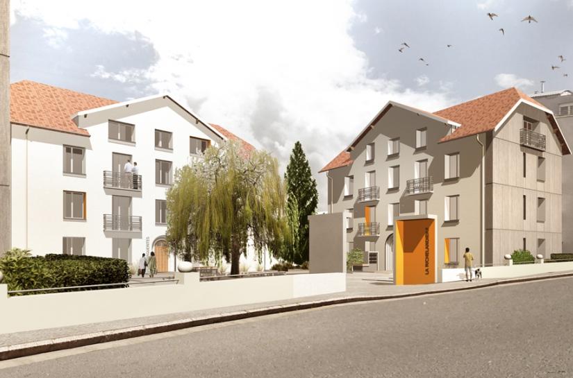 Réhabilitation logements La Richelandière