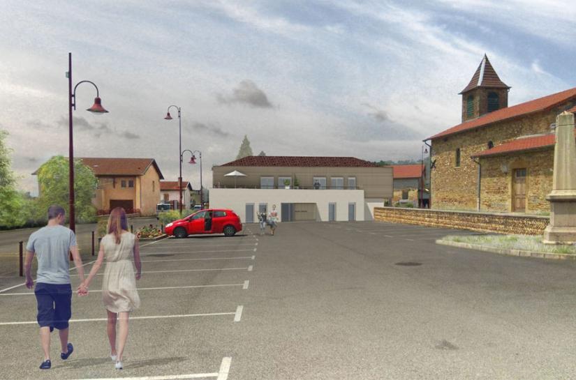 Construction logements + paramédical + crèche