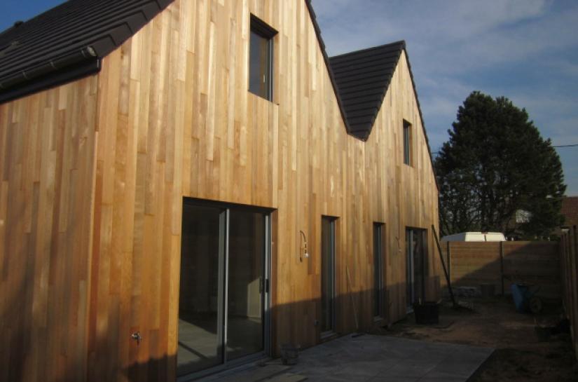 maisons locatives en ossature bois à Lompret