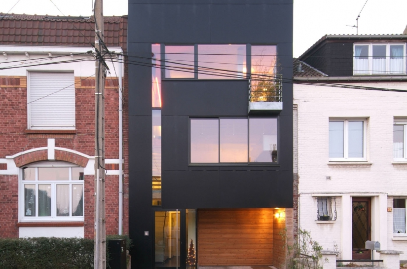 maison de ville contemporaine