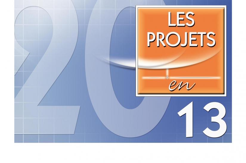 LES PROJETS EN 2013.
