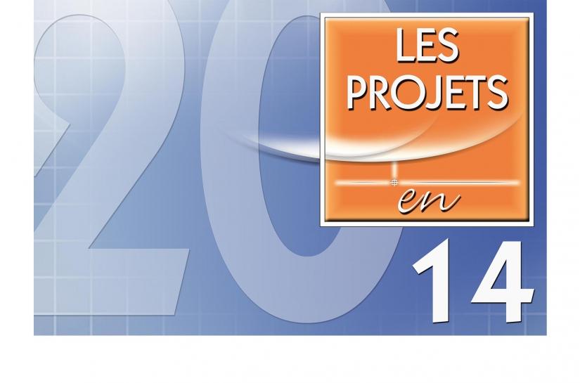 LES PROJETS EN 2014.
