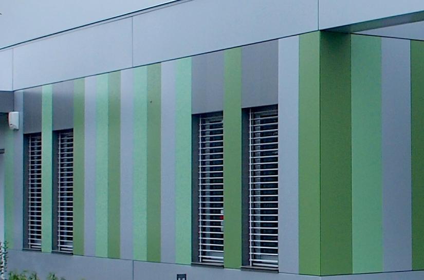 UP Architecture - Bureaux - Détail Façade
