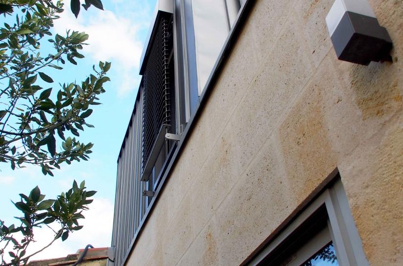 UP ARCHITECTURE - Extension d'une échoppe - Quartier Sacré-coeur - Bordeaux