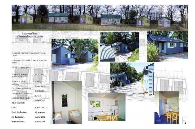 Habitats Légers de Loisirs au Camping du Cheix à La Souterraine