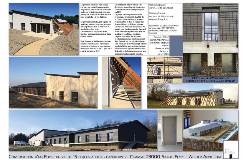 Construction d'un Foyer de vie pour adultes handicapés