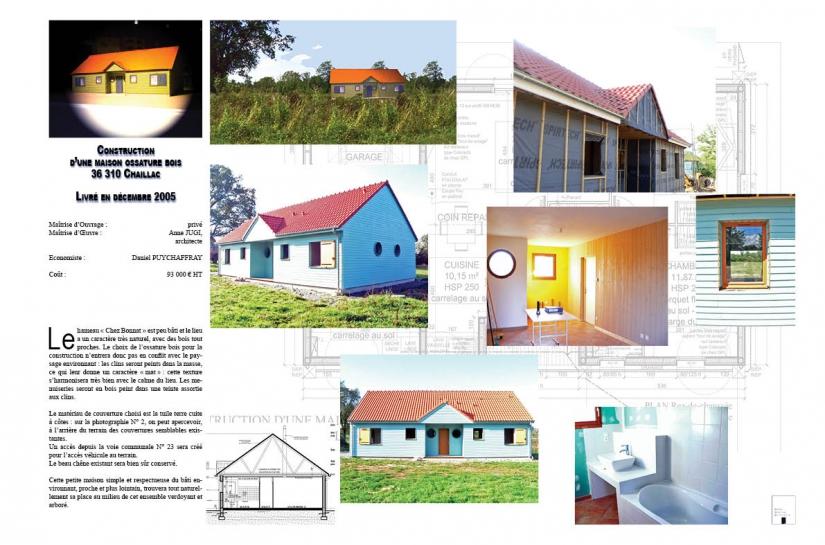 Petite Maison ossature bois (95 m²)
