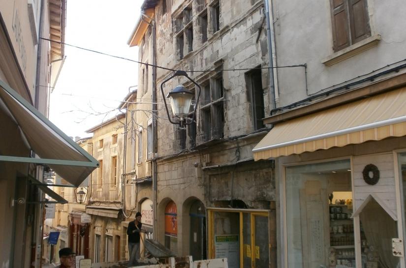 La façade avant restauration