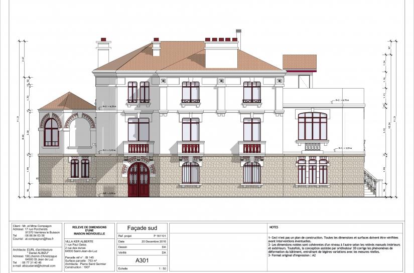 Patrimoine et architecture, villa Ker Alberte à Saint-Jean-de-Luz