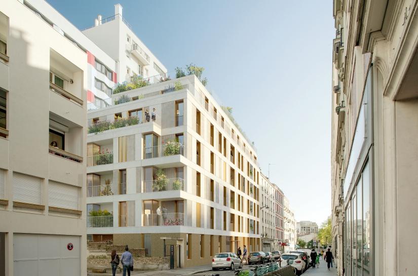 24 logements, Alexandre Duma, Paris XXème