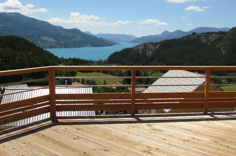 Orientation préférentielle - vue de la terrasse