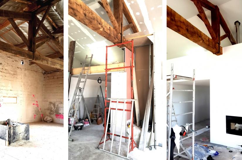Création d'un loft dans une bâtisse ancienne – Lisle sur Tarn (81)