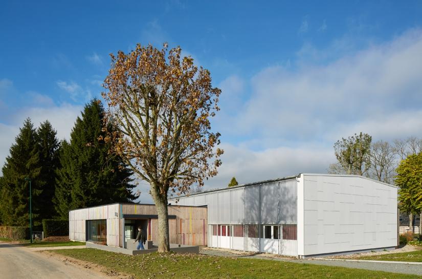 Réhabilitation et extension d'une salle communale à Saint-Ouen-du-Breuil (76)