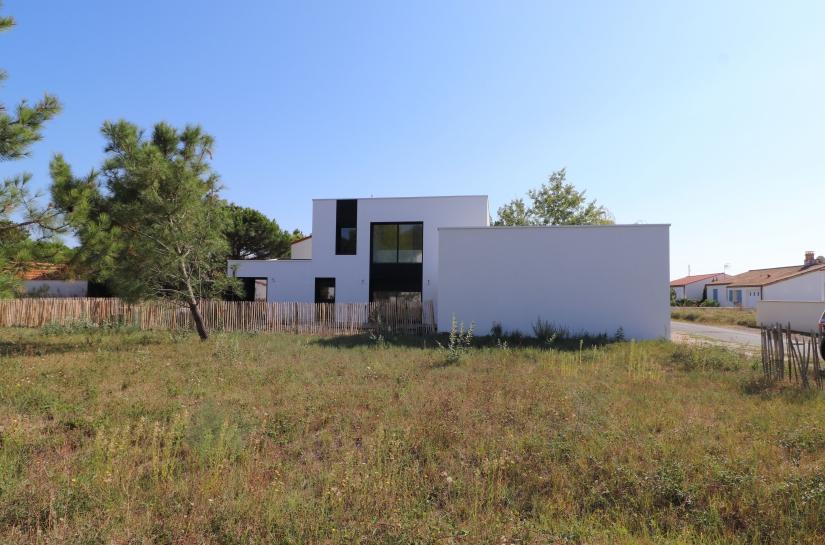 Maison La terrière - SL20 Architecture - Vue depuis parcelle voisine