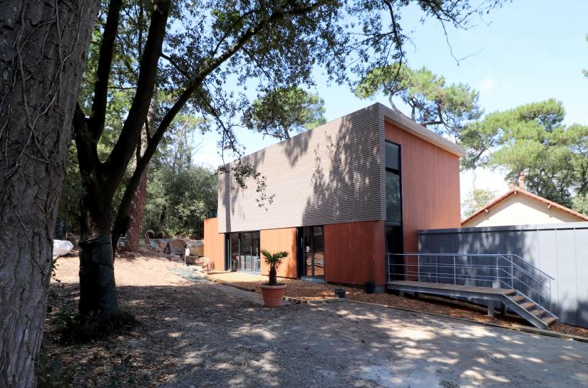 """Maison """"sous les Pins"""" - Saint-Brévin-les-Pins - SL20 Architecture - extérieur entrée"""