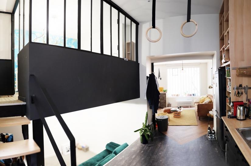 Rénovation appartement parisien