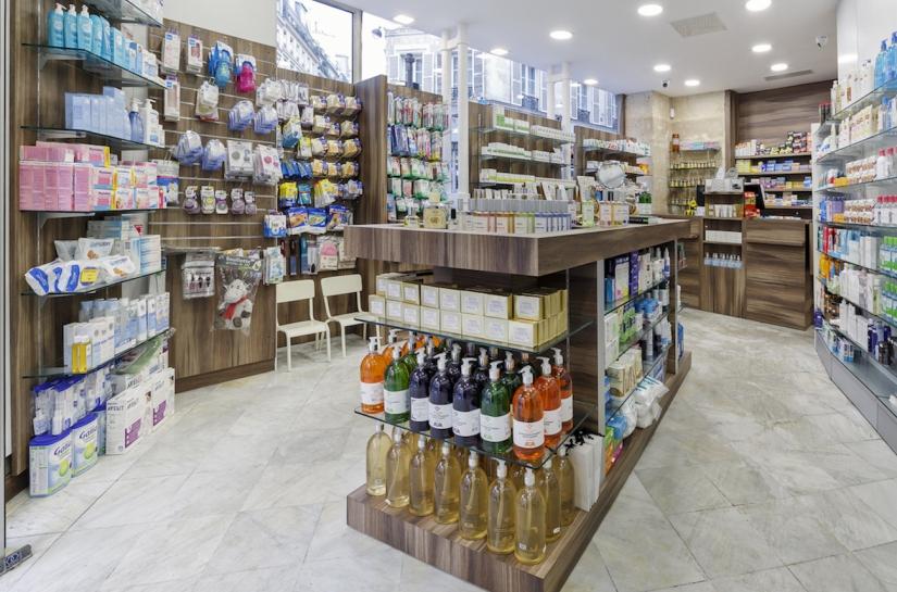 Rénovation pharmacie Paris