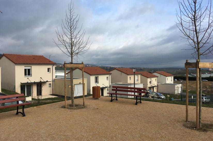 Semcoda Bessenay - programme de 16 maisons individuelles