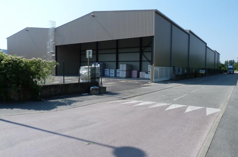 Construction d'une plateforme logistique pour BigMat Girardon à Condrieu