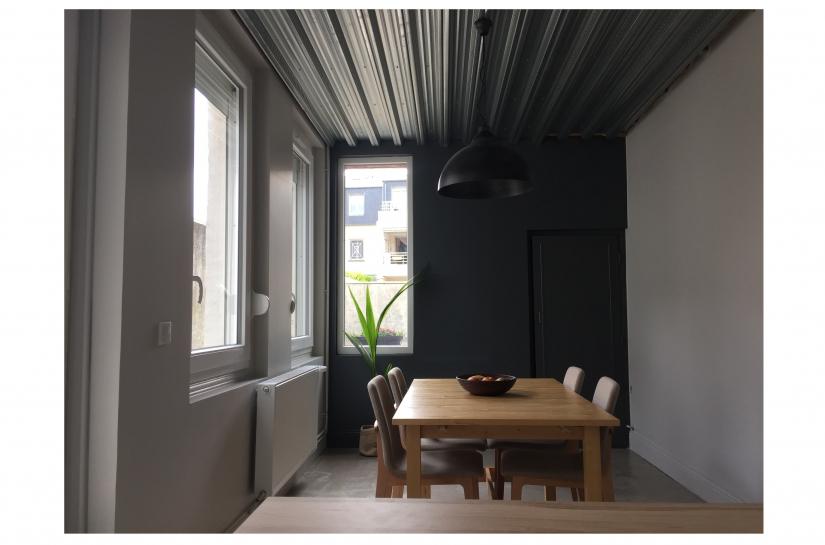 Extension de la maison, matériaux actuels.