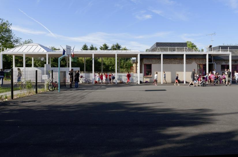 Scheubel + Genty ARCHITECTES - Ecole Léonard de Vinci