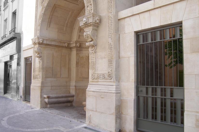 restauration pierre de taille et sculpture, pavage sol