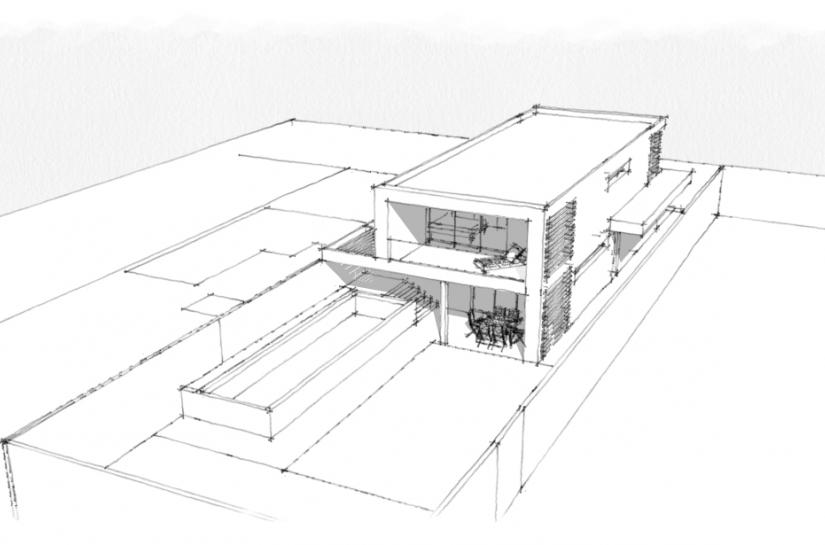 maison neuve à Villemomble, Alice Platriez Architecte