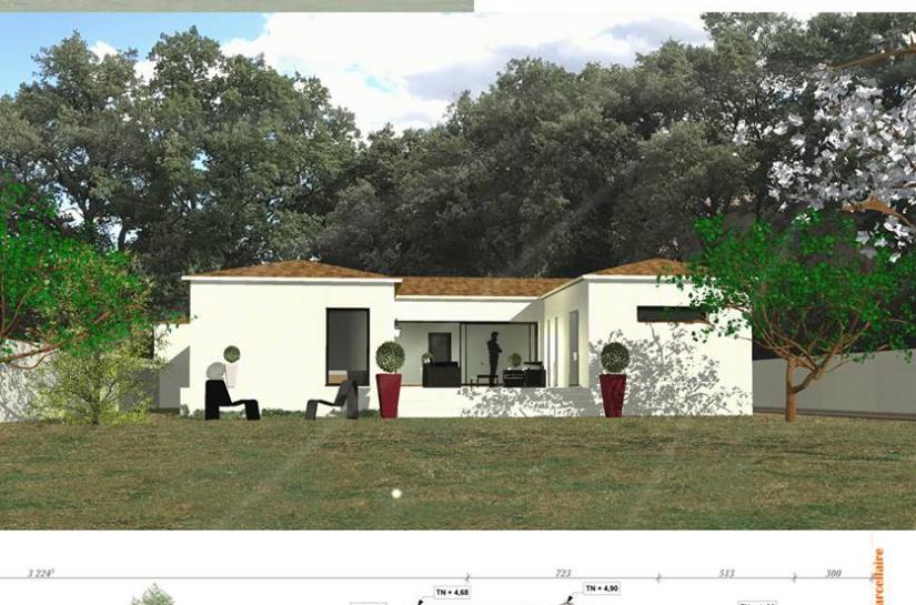 alexis peyrouse architecte laudun orsan villa individuelle