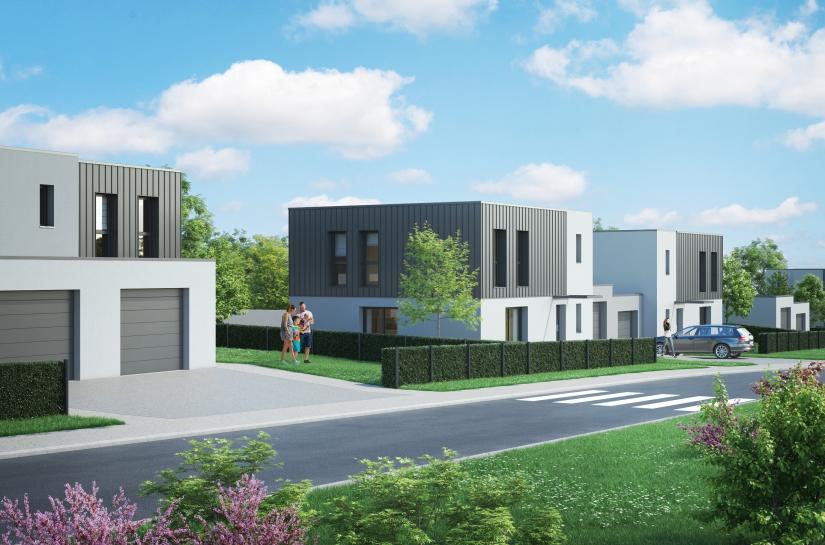 12 Maisons individuelles Vallières-lès-Metz Benjamin Fedeli Architecte