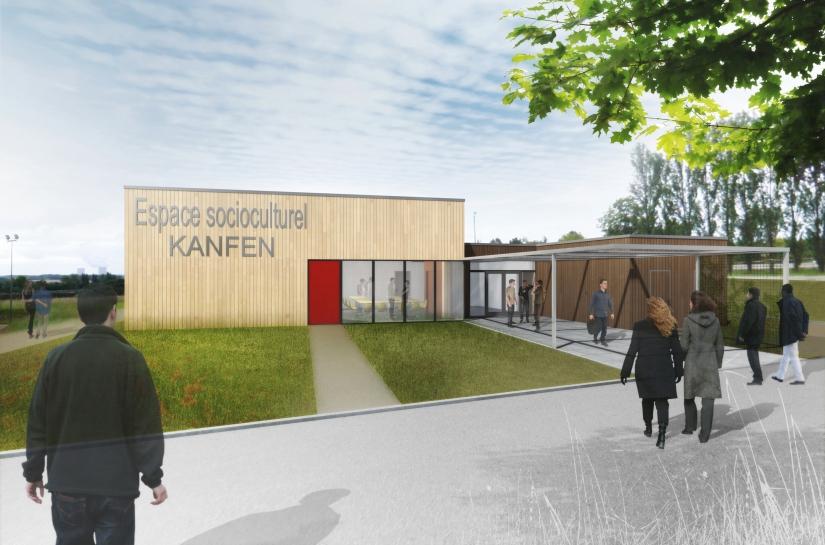 Espace socio-culturel Kanfen Benjamin Fedeli Architecte