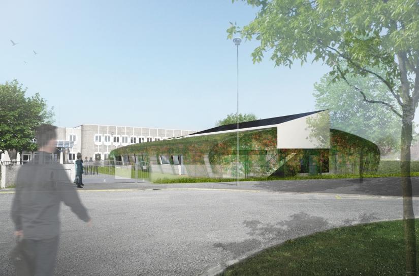 Demi-pension Avize Benjamin Fedeli Architecte