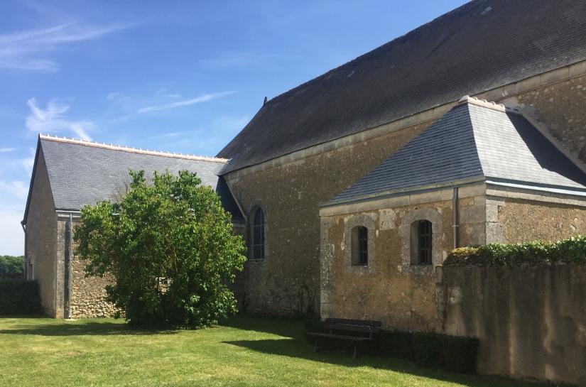 Chapelle et baptistère : reprise couvertures ardoise
